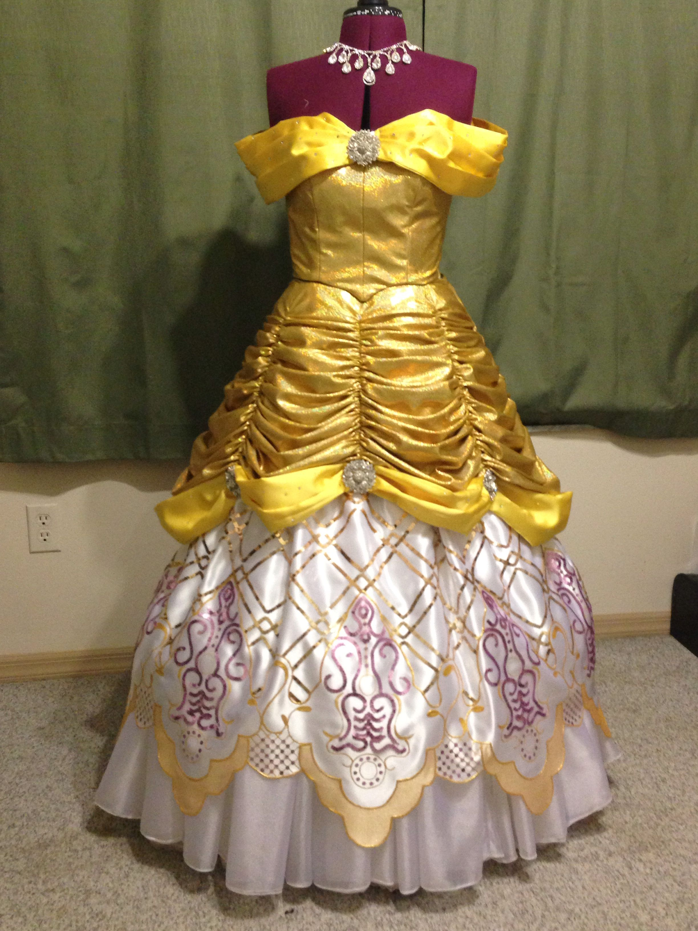 Beauty and the Beast Belle from Walt Disney's Hollywood Studios Fantasmic Show. All handmade.