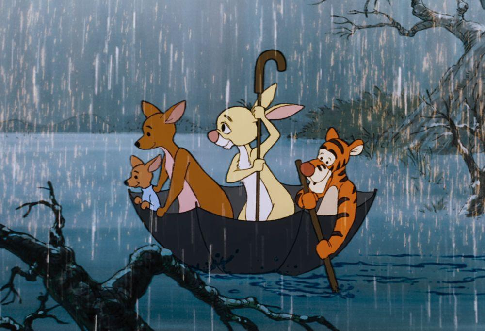 Disney Life Hacks | Love the rain