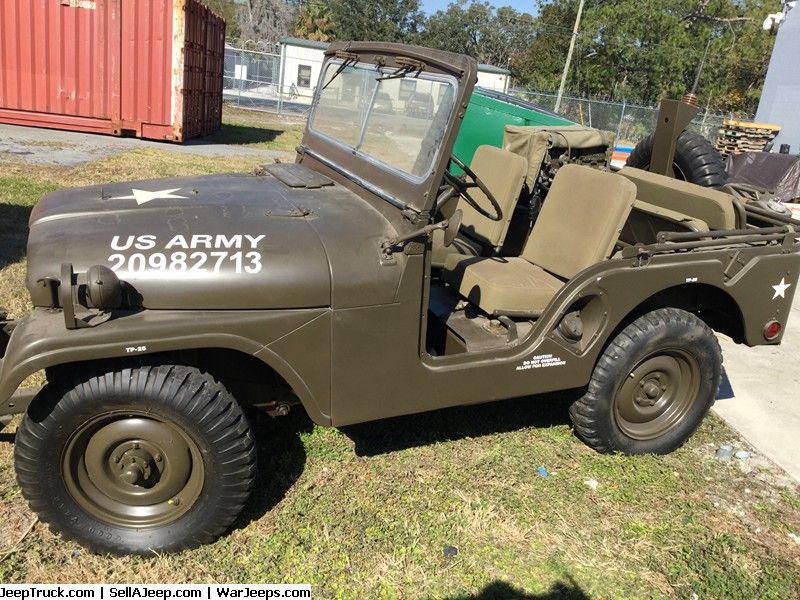 Military Jeeps For Sale And Military Jeep Parts For Sale 1953