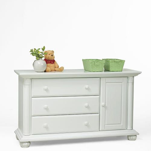 Baby Cache Heritage Combo Dresser White Toys