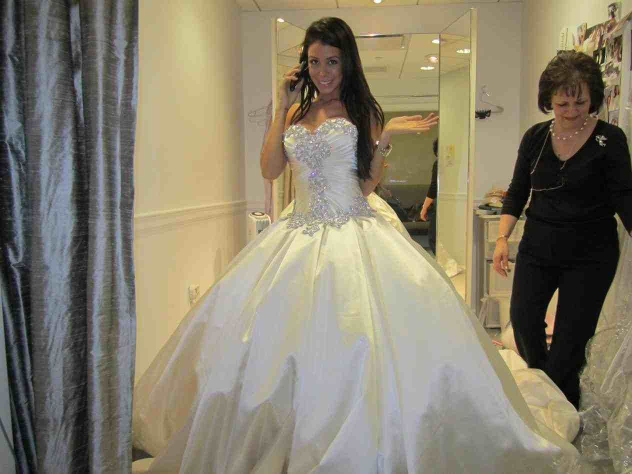 Ball gown wedding dress with bling  wedding ball gowns with bling  Weddings  Pinterest  Ball gowns