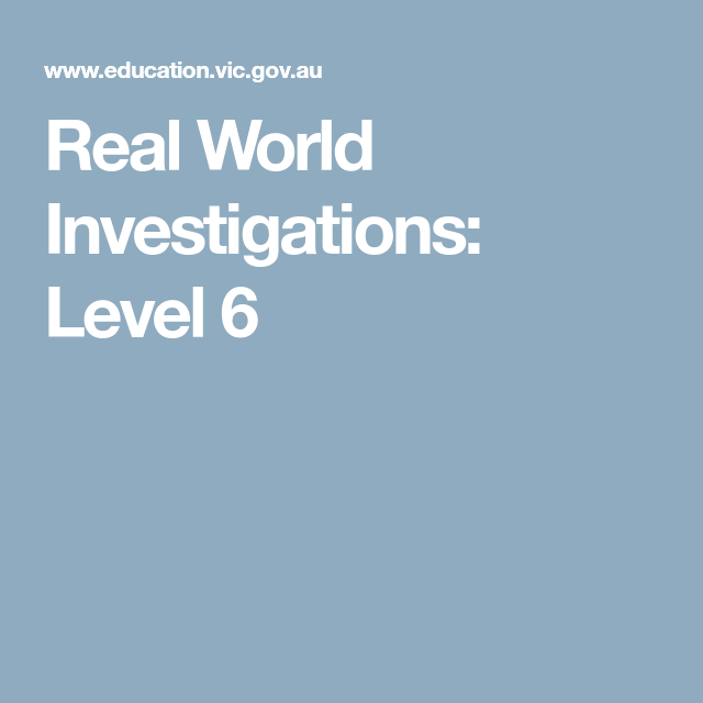 Real World Investigations: Level 6 | IL\'s MATHS | Pinterest ...