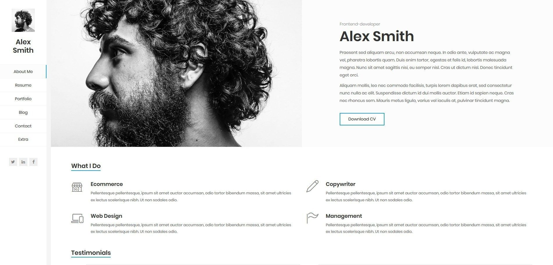 Best wordpress masonry grid portfolio and blog themes