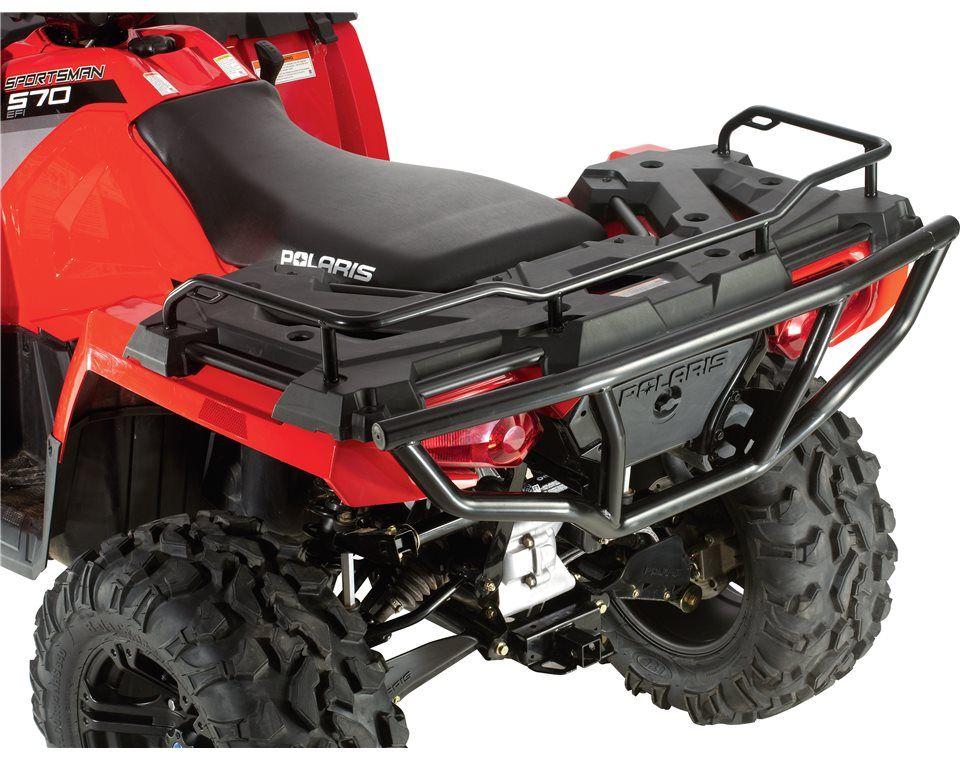 Rear Rack Extender Black Wheels Polaris Sportsman 570