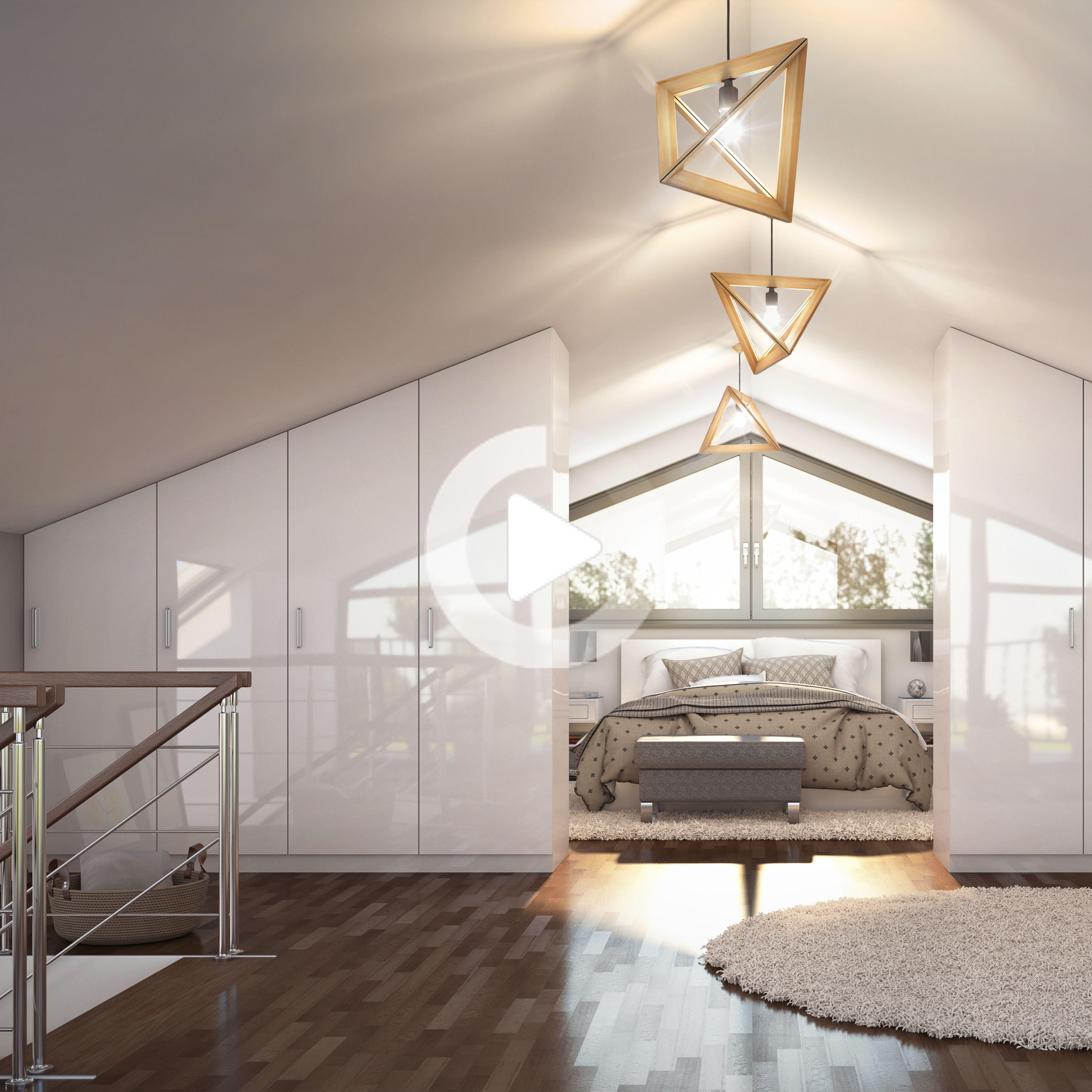 Dachgeschoss als Schlaf  und Ankleidezimmer   Schlafzimmer ...