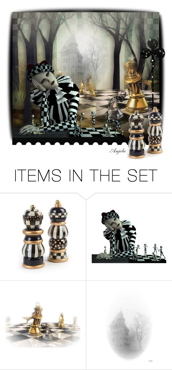 """""""Peppered"""" by anjelakewell ❤ liked on Polyvore featuring art and saltandpepper"""