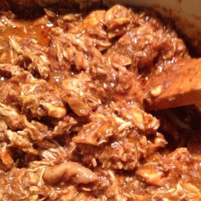Ingredients Chicken Mole: 2 dried ancho chiles 3 tablespoons peanut oil 1 medium yellow onion, minced Kosher salt and freshly ground black pepper1