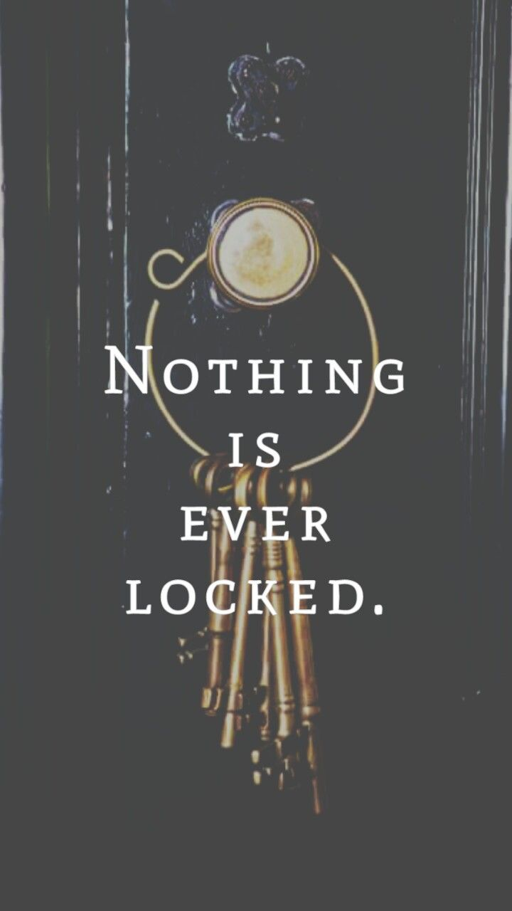 Now You See Me Quotes Nothing Is Ever Lockednow You See Meiphone Wallpaper