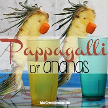 tutorial diy pappagalli di ananas estate ME creativeinside