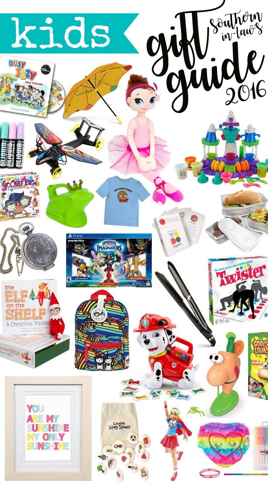 2016 Kids Christmas Gift Guide | Santa\'s List | Pinterest ...