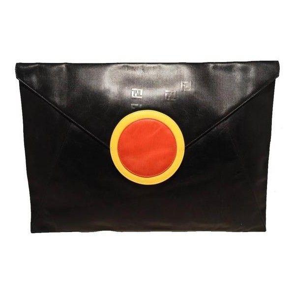 1caa4101c9 reduced fendi handbag polyvore leather clutch a04ff 7d2f5