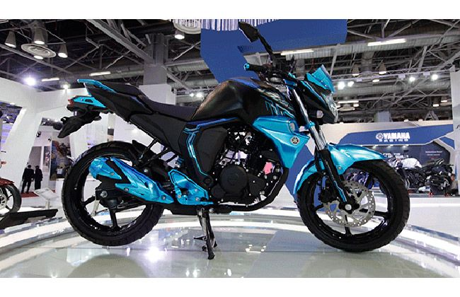 2014 Yamaha Fz Facelift Spotted Again Expect The Launch Soon