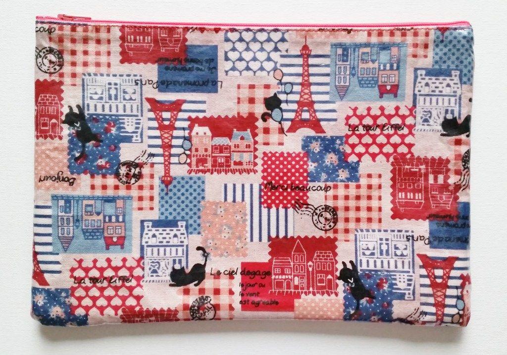 DIY Laminate Fabric Pouch Tutorial | Laminated fabric ...