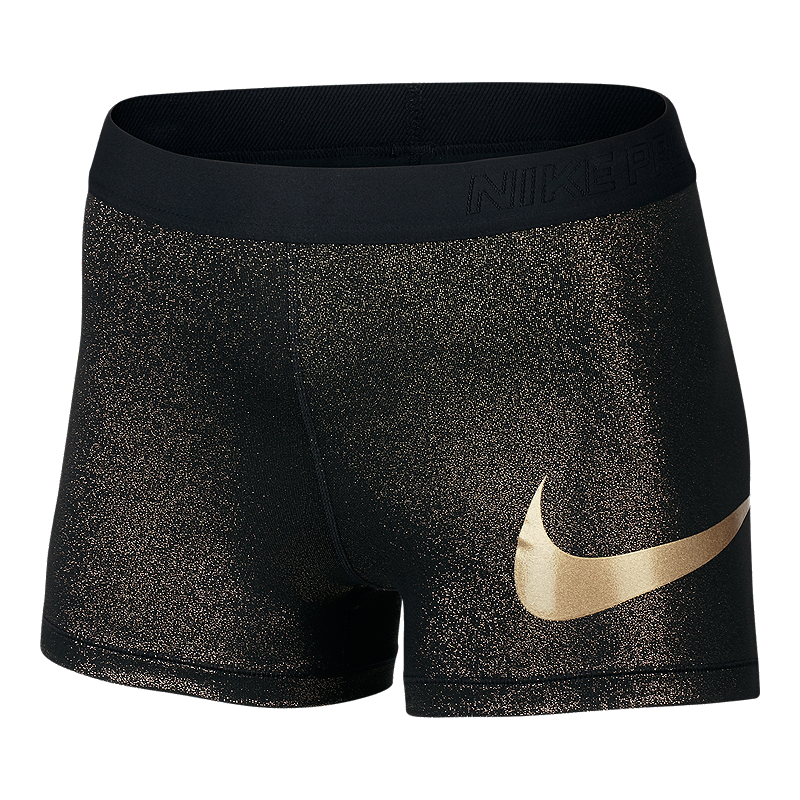 Nike Pro Cool Rose Gold 3 Inch Women's Shorts