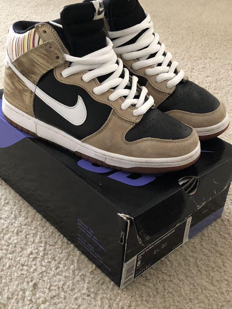 Nike Dunk SB High PRO SB SUPREME Paul