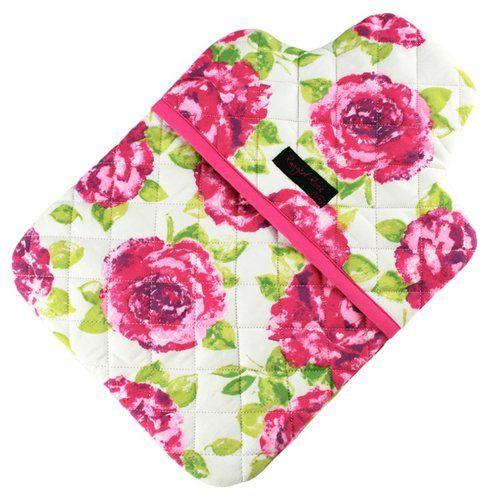 Ragged Rose PVC White and Pink Rose Garden Kneeler White