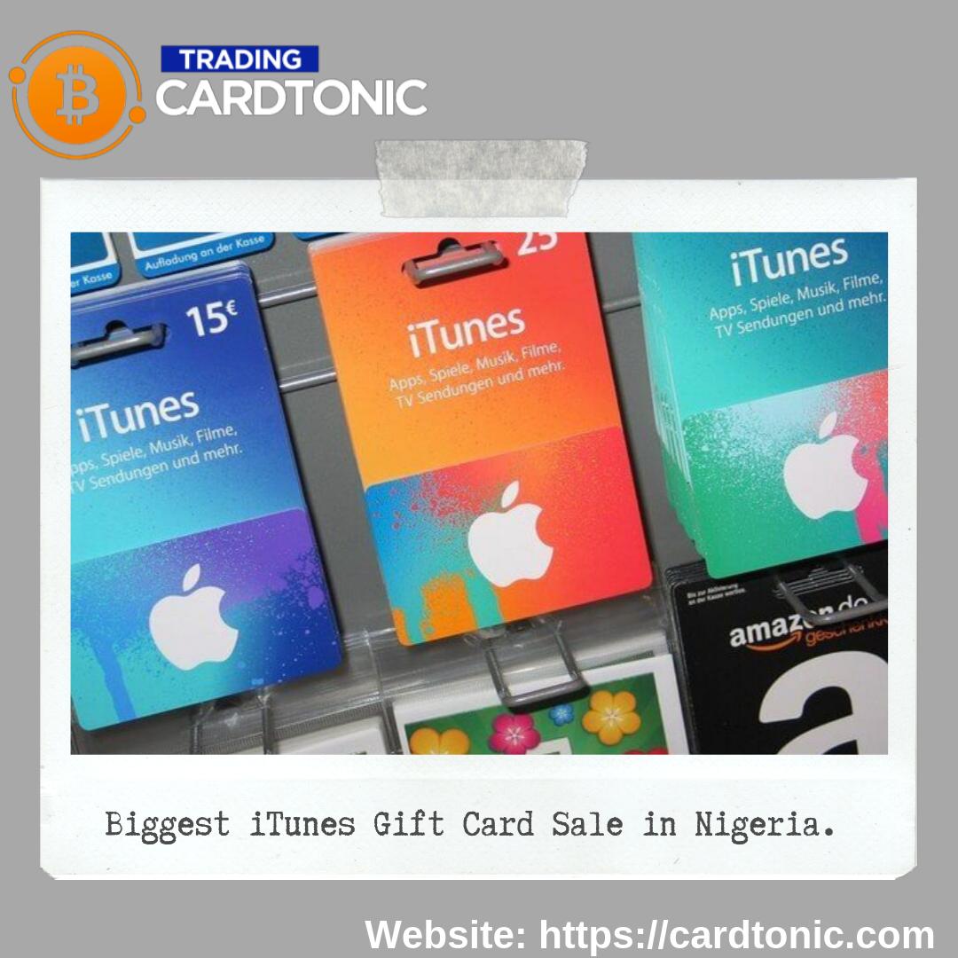 Biggest Itunes Gift Card Sale In Nigeria Free Gift Cards Online Itunes Gift Cards Free Itunes Gift Card