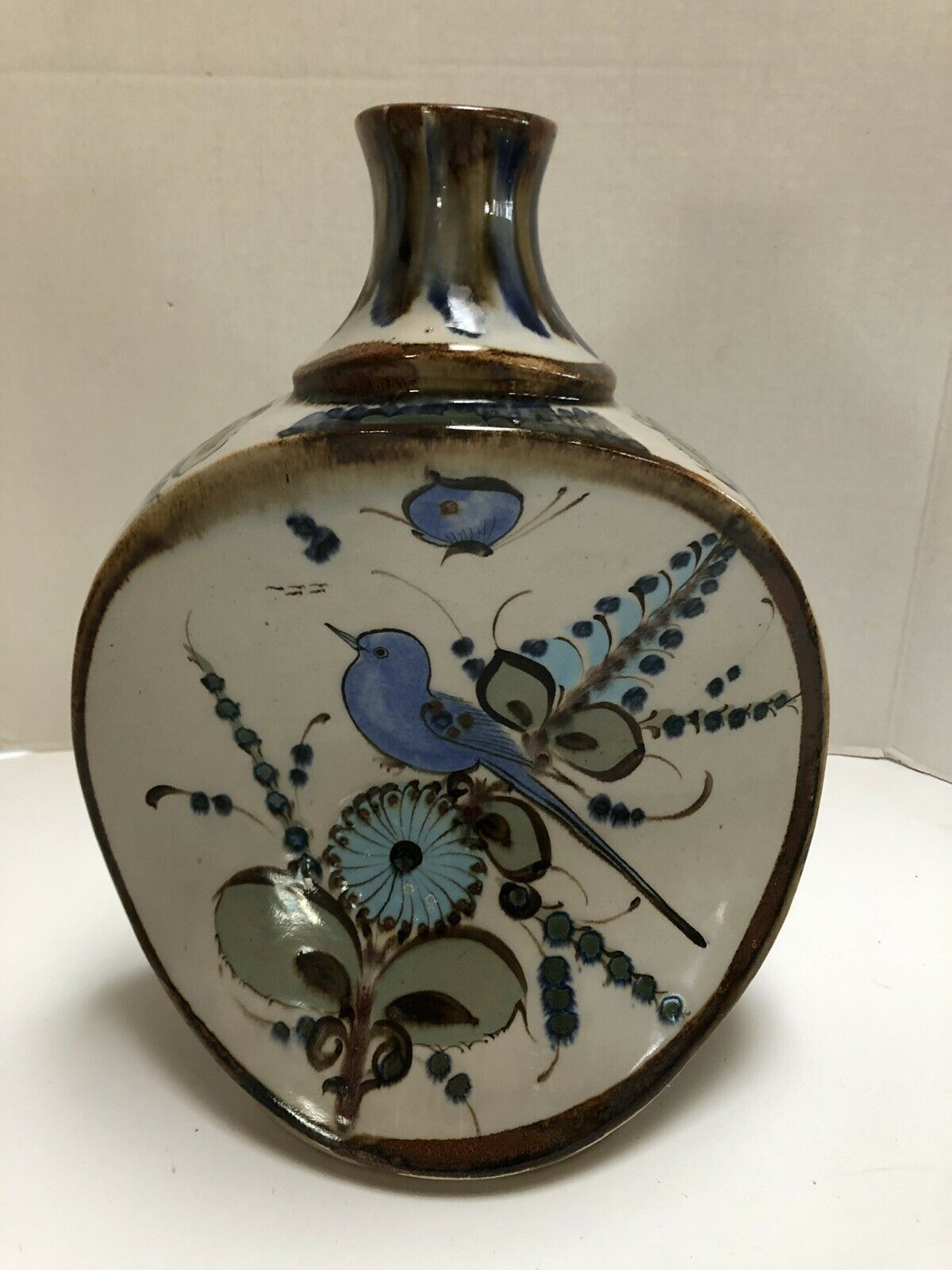 Rare Ken Edwards Mexican Pottery EL PALOMAR TONALA Table