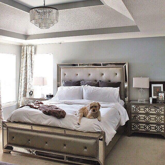 Mirrored Bedroom Furniture Z Gallerie