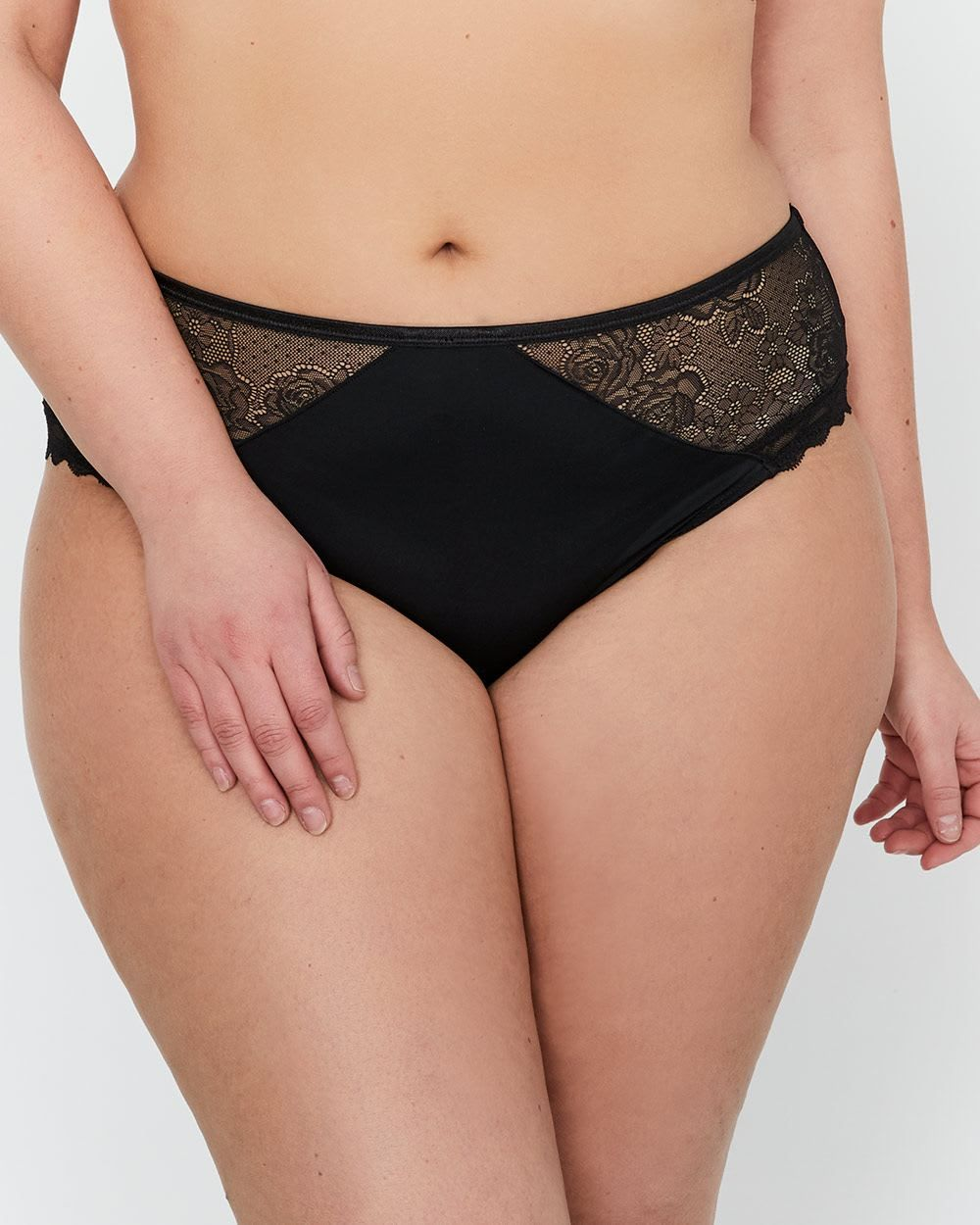 43267b01027ad7 Add this sexy, feminine and seductive plus size panty from Déesse into your  lingerie drawer