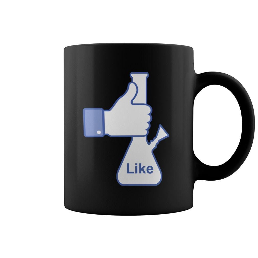 Facebook like a bong coffee mug mugs coffee mugs bongs