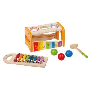 Educo Early Melodies Pound And Tap Bench By Educo