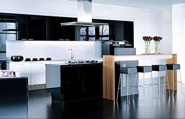 resultado de imagen para cocinas modernas grandes con isla