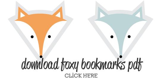 Fox Bookmarks - Free Printables, DIY by www.lonnies.dk ...