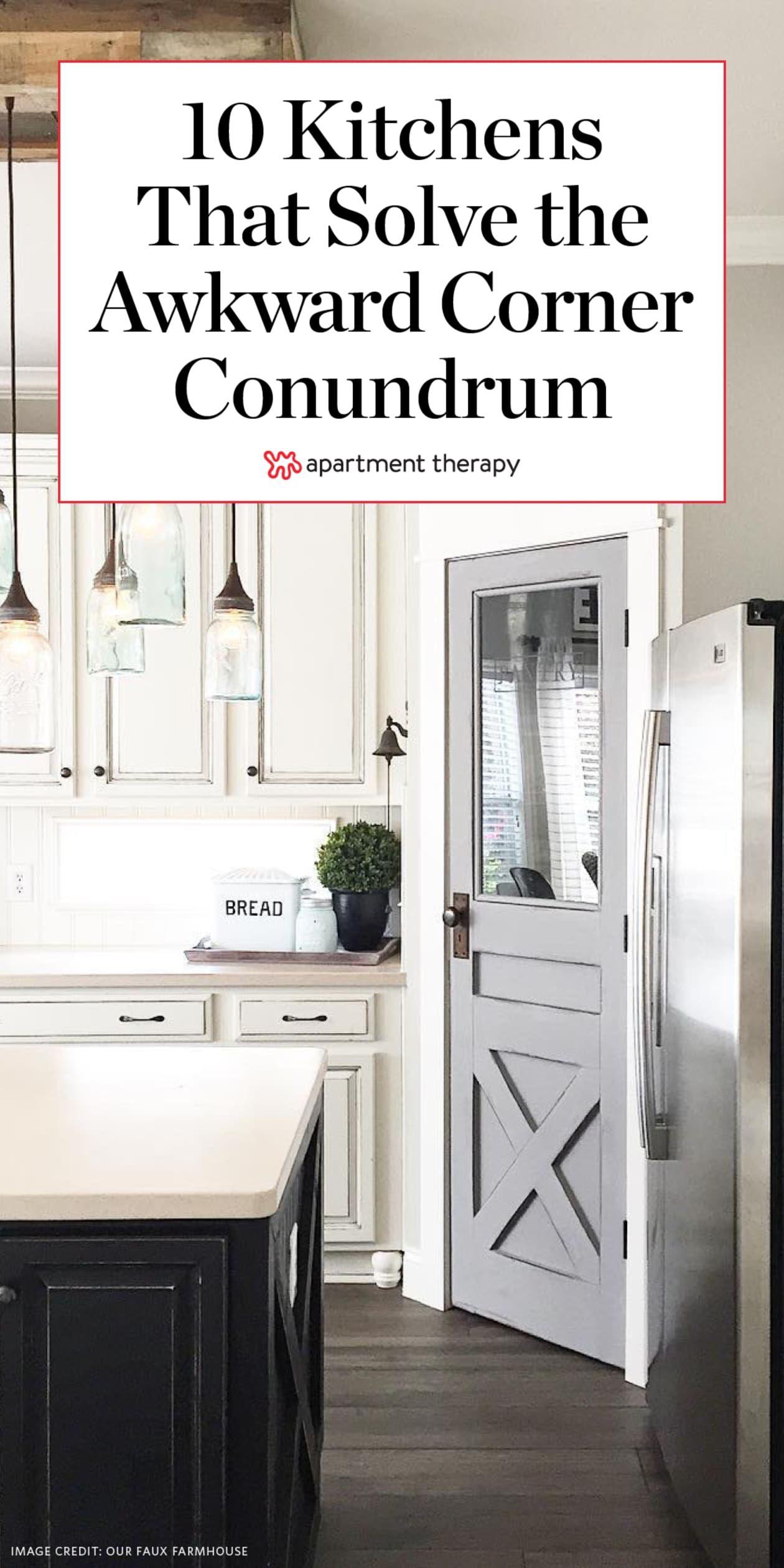 10 kitchens that solve the awkward corner conundrum corner kitchen cabinet kitchen corner on kitchen cabinets corner id=67527