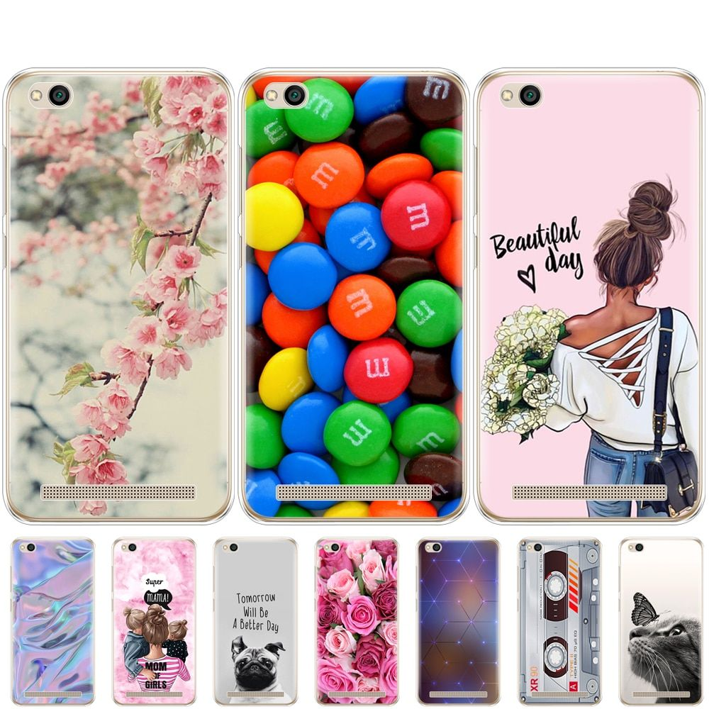 Cases For Xiaomi Redmi 5a 5 0 Inch Phone Case Silicon For Hongmi 5a Shell Painted Back Cover For Redmi 5a In 2021 Phone Cases Phone Case Cover Phone