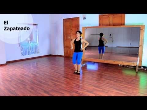 Como bailar sevillanas- Paso: El Zapateado - YouTube