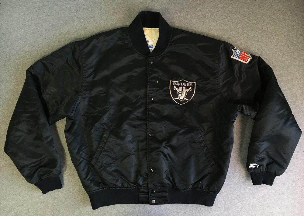 Raiders Starter Jacket Proline 90s Oakland Hip Hop Nwa Rap Eazy E Dre Usa Men L Jackets Raiders Rap