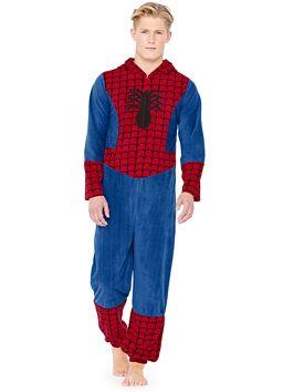 070aa6179e65 Character Mens  Spiderman Onesie l buy it now from Very.co.uk  Onesie   Romper  Sleepwear  Novelty  Fun  Gift  Christmas