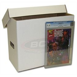 BCW offers a variety of Comic Storage Boxes. Our Long boxes short boxes and book-shelf boxes provide reliable and attractive storage for your comic books.  sc 1 st  Pinterest & GRADED-COMIC-BOOK-BOX | Collections | Pinterest | Comic Storage ...