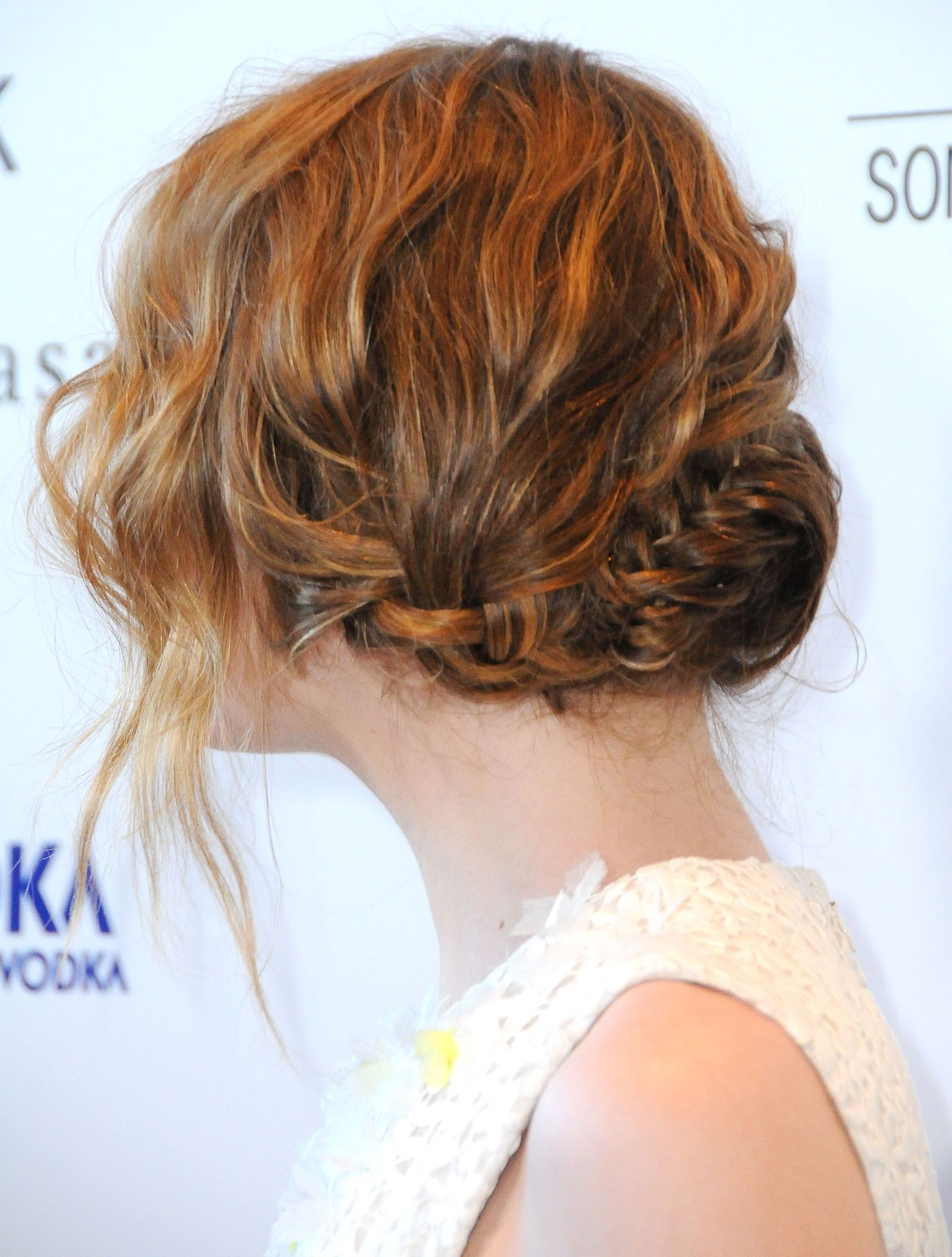 13 Easy Updos for Short Hair | Peinados