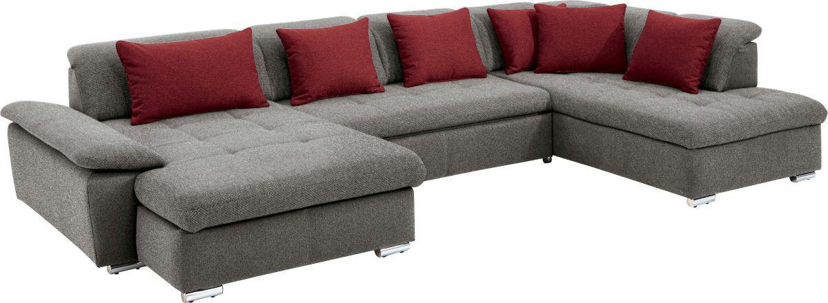 Polsterecke »SO 7100« rot, SET ONE BY MUSTERRING Jetzt bestellen - wohnzimmer sofa rot