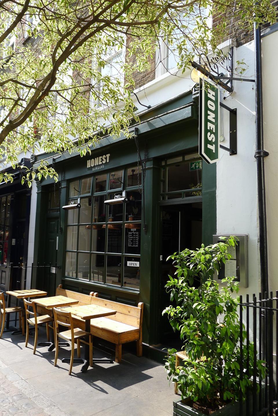 Honest Burger London Bar Restaurant Cafe Public