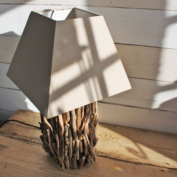 Driftwood Lamps Coastal Lighting Nautical Decor Stick Lamp The Sea