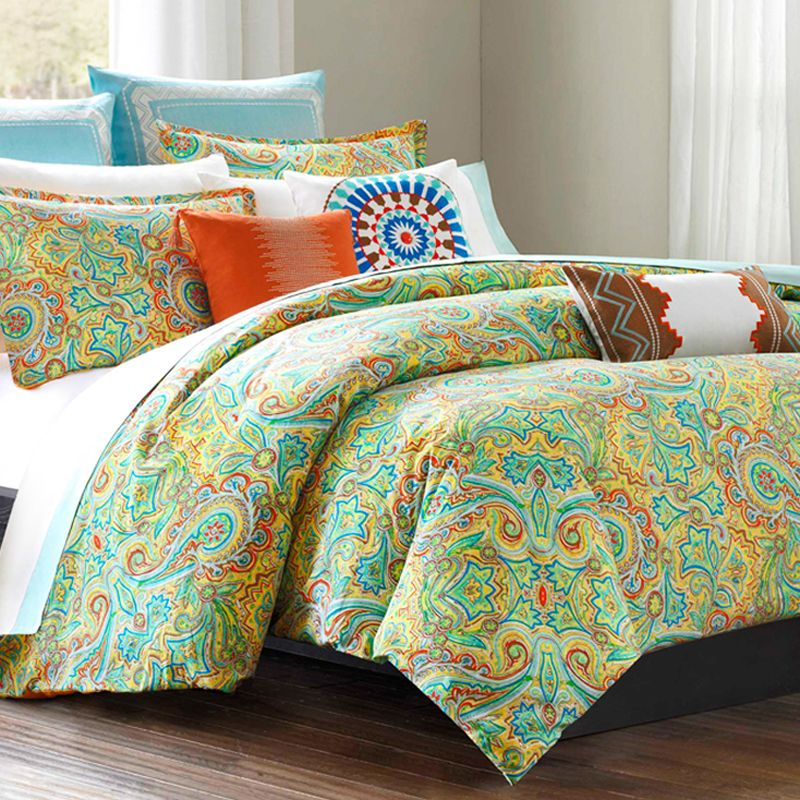 Beacon S Paisley Twin Cotton Comforter Set Duvet Style For