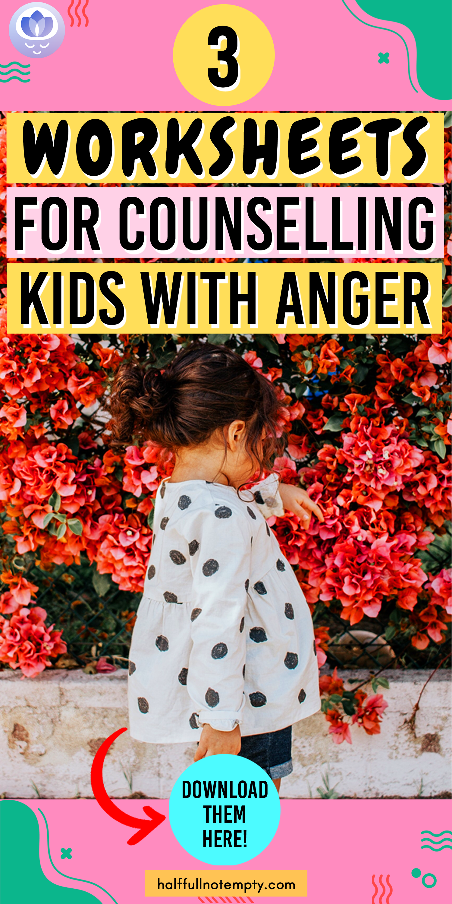 3 Worksheets For Counseling Kids With Anger
