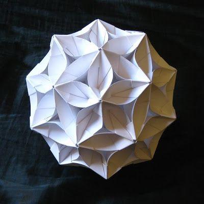 Origami bucky ball flower instruction video available origami tektonten papercraft free papercraft paper models and paper toys origami bucky ball flower mightylinksfo Choice Image