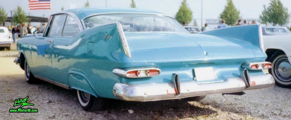 1959 Plymouth Fury Coupe - Tail Fins of a 59 Plymouth Fury