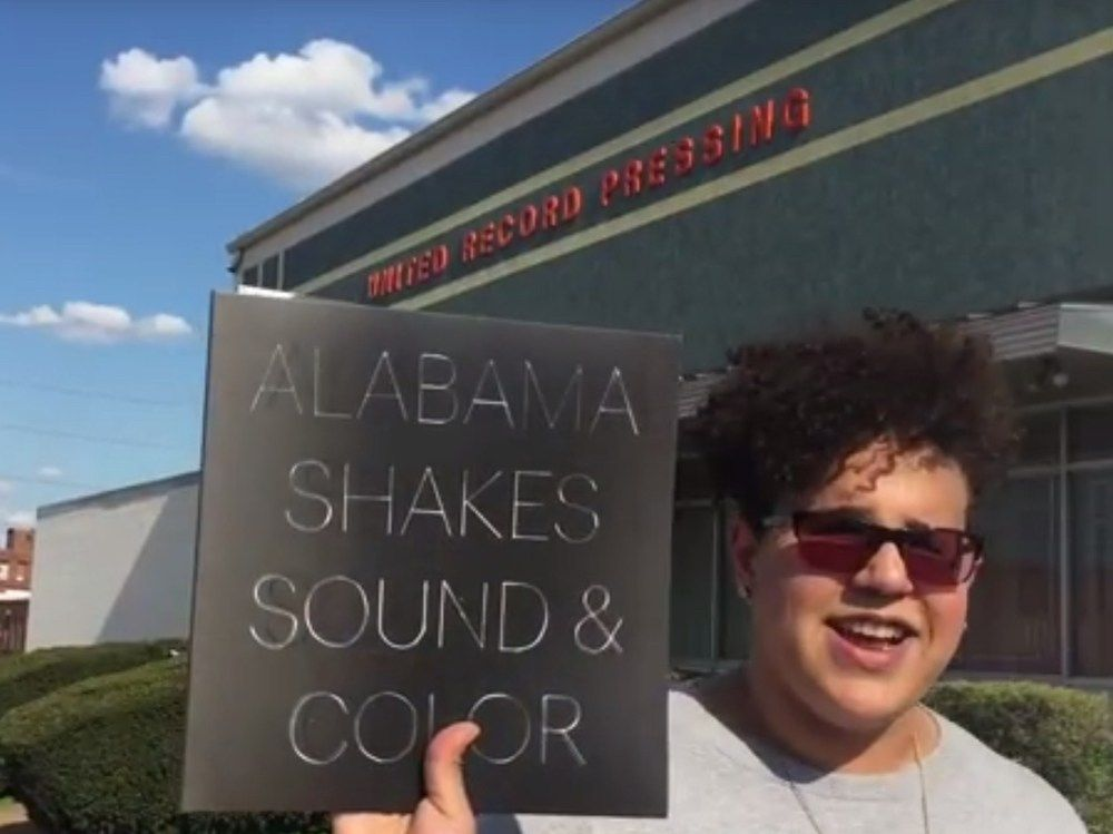 Alabama Shakes Brittany Howard Shows How They Make Clear Vinyl