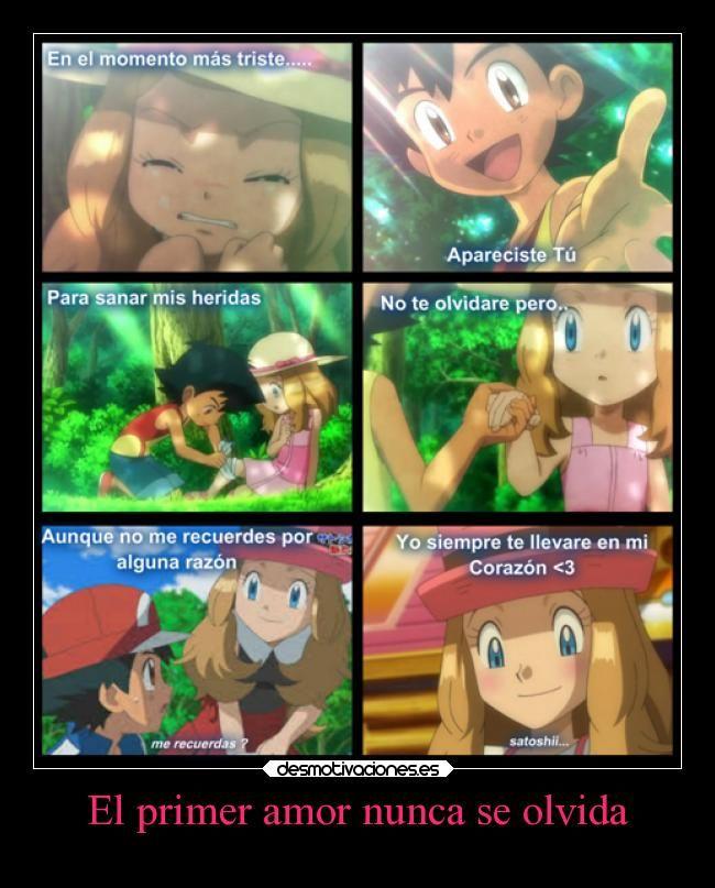 Carteles Amor Confianza Corazon Amigos Amistad Amor Pokemon Anime