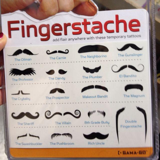 Fingerstaches