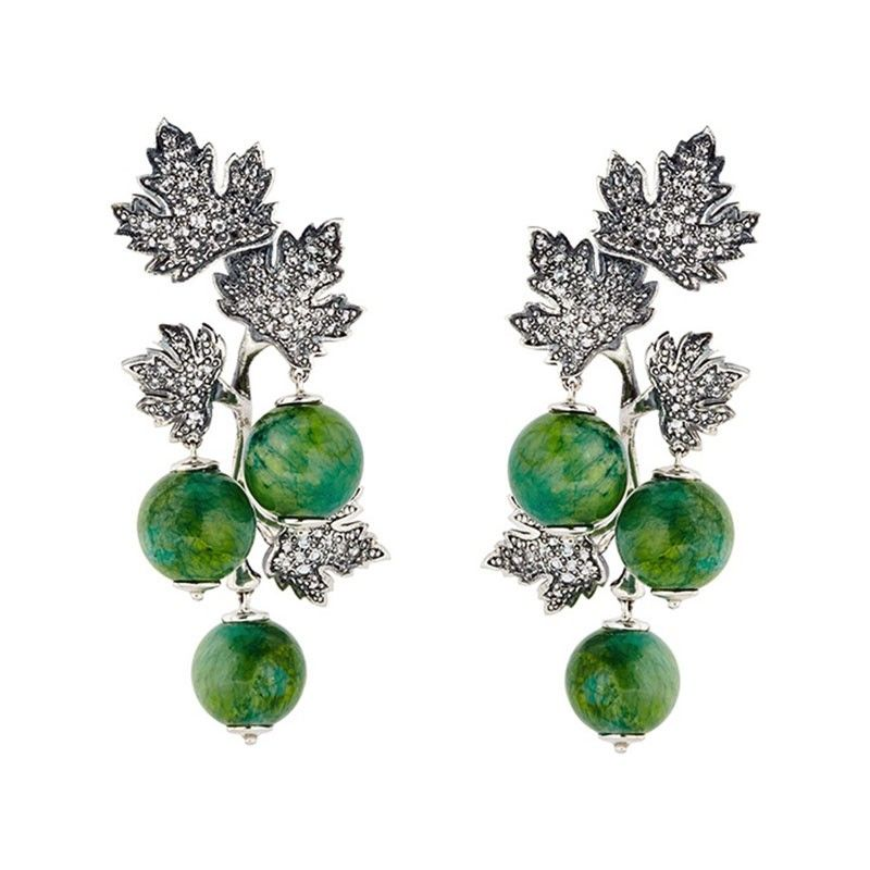 Axenoff Jewellery » Earrings «Gooseberry»