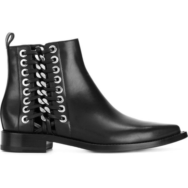 Alexander McQueen chain and eyelet detail Chelsea boots outlet locations cheap price 0CdYbe