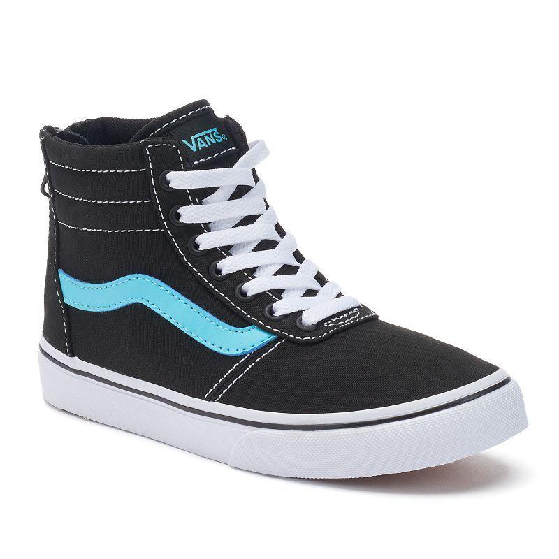 c07519f7b5cece Vans My Maddie Zip Girls  High-Top Skate Shoes