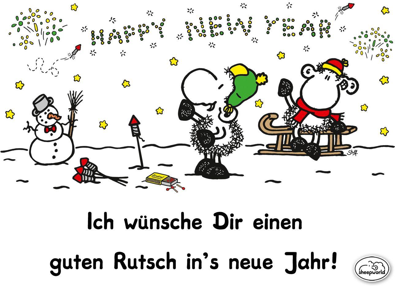 Einen Guten Rutsch In S Neue Jahr Guten Rutsch Weihnachtsgedicht Lustig Silvester Spruche Lustig