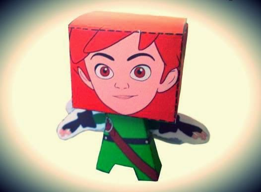 Papermau Robin Hood Mischief In Sherwood Robin Paper Toy By